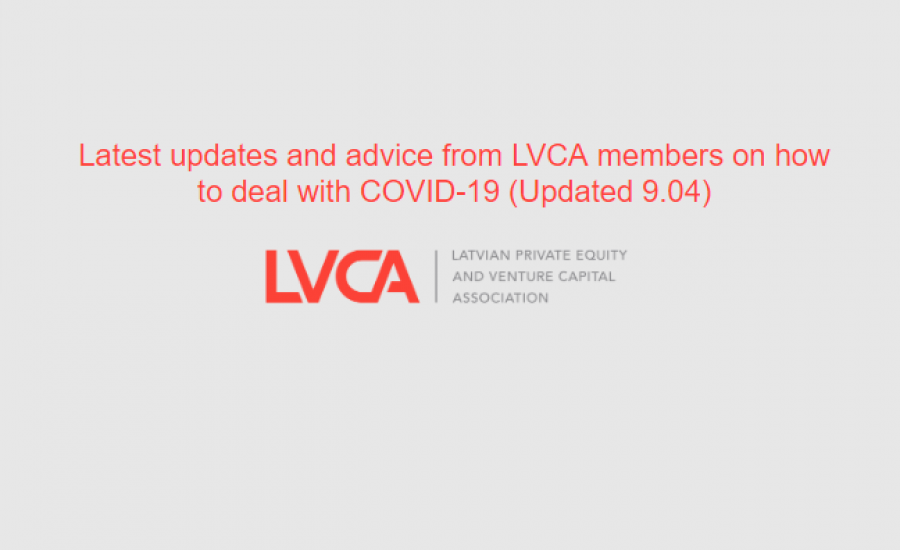 Latest updates and advice from LVCA members on how to deal with COVID-19 (Updated 9.04)