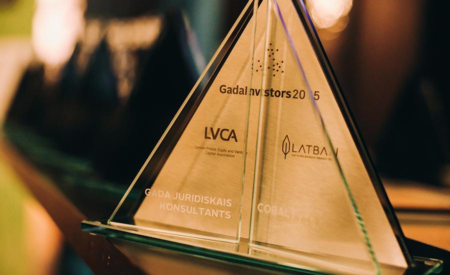 """Pasniegtas """"Gada Investors 2015″ balvas"""