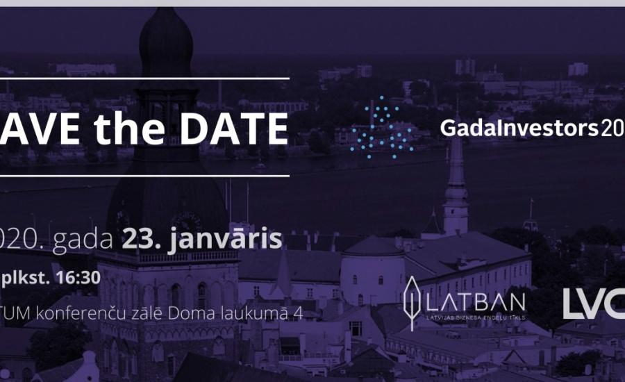 GadaInvestors'19 apbalvošanas ceremonija notiks 2020.gada 23.janvārī