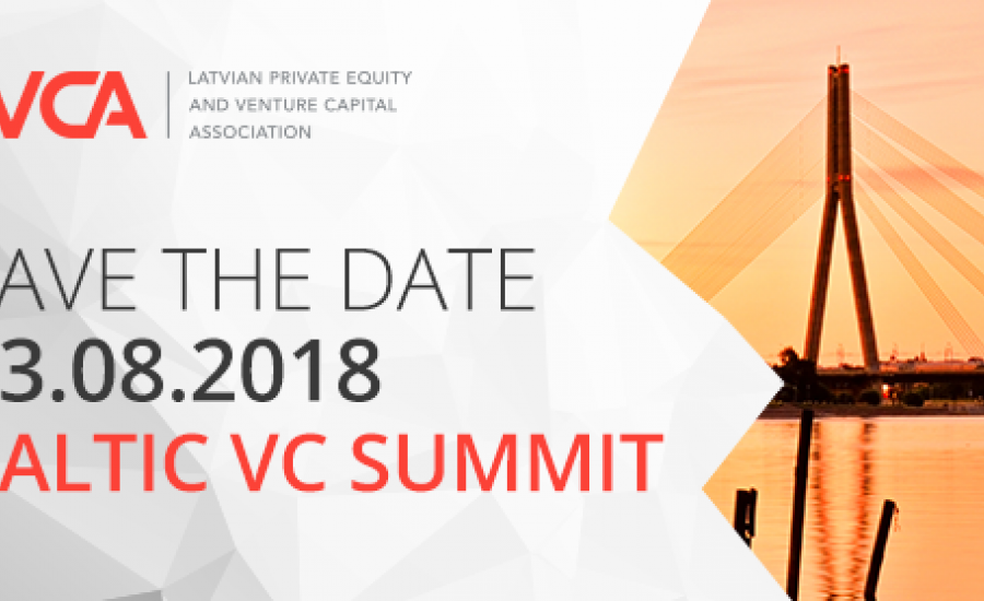 Baltic VC Summit 2018 in Riga on the 23rd of August