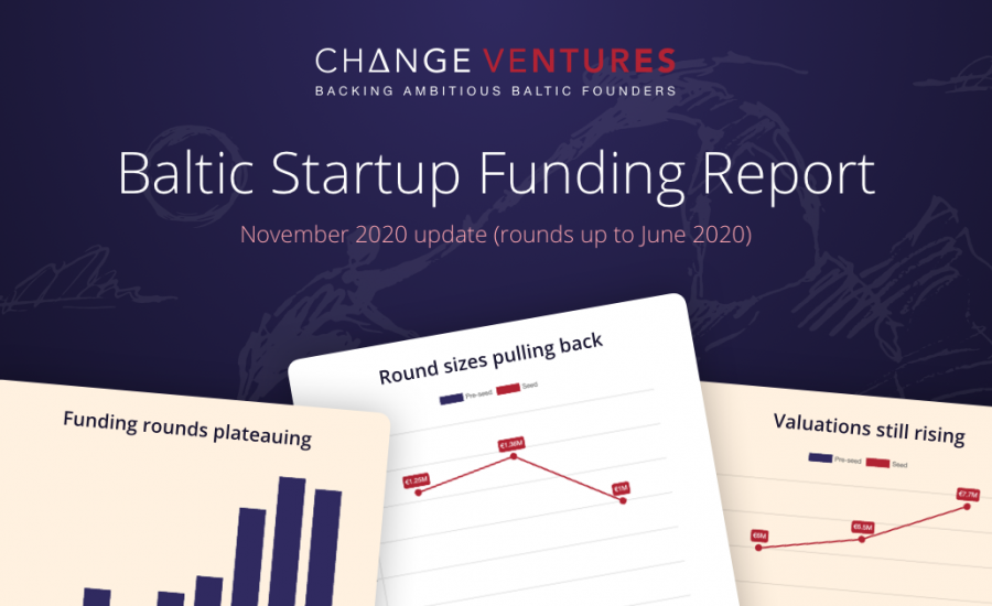 Change Ventures Baltic Startup Funding Report launched